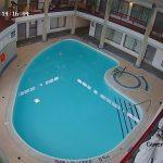 Indoor swimming pool common area