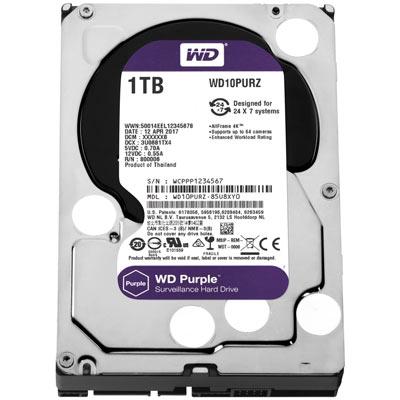 Western Digital Purple Surveillance Grade Hard Drive